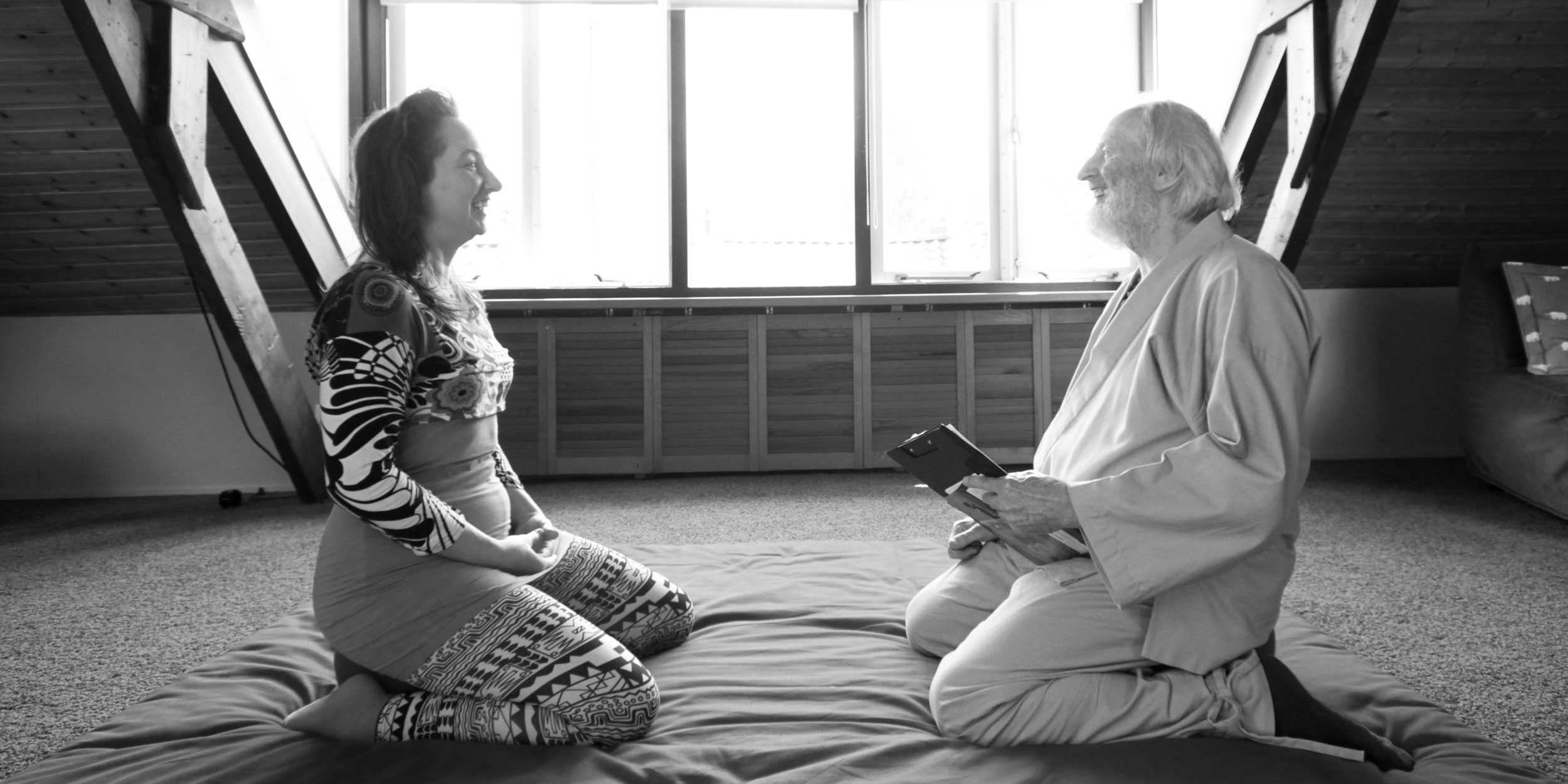 For Whom are Shiatsu treatments helpful. Intake talk